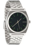 Nixon The Time Teller Watch  Midnight Blue/Volt Green