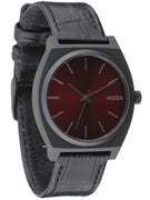 Nixon The Time Teller Watch Black/Gator