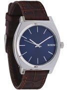 Nixon The Time Teller Watch Brown/Gator