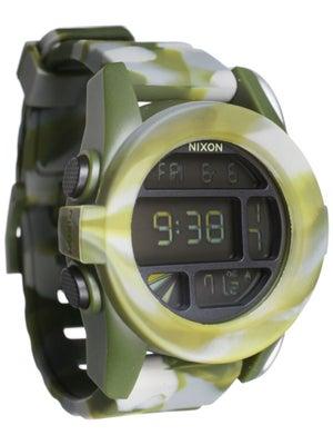 Nixon The Unit Watch  Marbled Camo