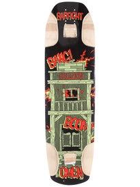 Omen Longboards Barfight Deck  9.5 x 34.5