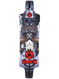 Omen Longboards Mini Barbarian Deck  9.5 x 37
