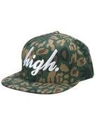 Odd Future High Camo Snapback Hat