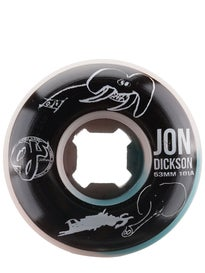 OJ Dickson Heightens Awareness EZ Edge 101a Wheels