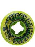 OJ Figgy Broken Licks EZ Edge 101a Green Wheels