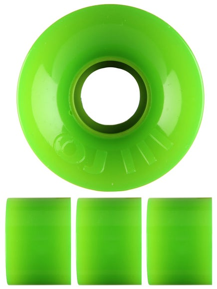 OJ Hot Juice Mini 78a Neon Green Wheels