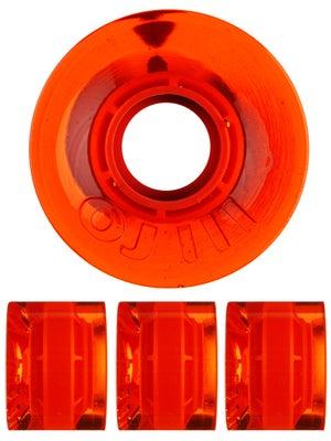OJ Hot Juice Mini 78a Trans Orange Wheels