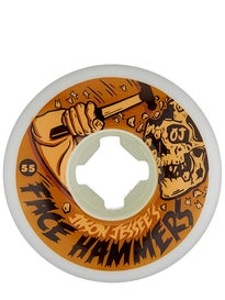 OJ Jessee Face Hammers EZ Edge Insaneathane 101a Wheels