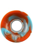 OJ Hot Juice Mini 78a Orange/Blue Swirl Wheels