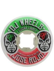 OJ Rojo Lucha Libre EZ Edge Insaneathane 101a Wheels