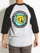 Organika Tiger 3/4 Sleeve Raglan