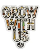 Organika Grow Collage Sticker