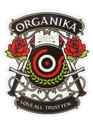 Organika Love All Sticker