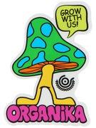 Organika Mushroom Sticker
