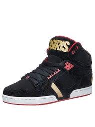 Osiris NYC 83 Shoes  Black/Red/DPI