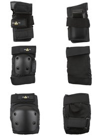 One-Tri Youth Protective Set 3 Pack Black