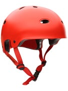 Protec B2 Skateboard Helmet Satin Blood Orange