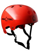 Protec Classic Bucky Helmet Translucent Red