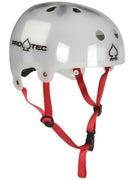 Protec Classic Bucky Helmet Translucent White