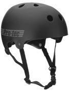 Protec Classic Bucky Helmet  Black Rubber