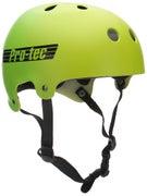 Protec Classic Bucky Helmet  Yellow Green Fade
