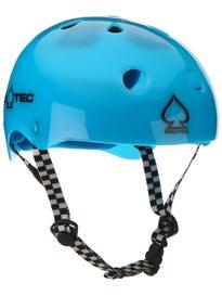 Protec Classic Skate Helmet  Trans Gumball Blue