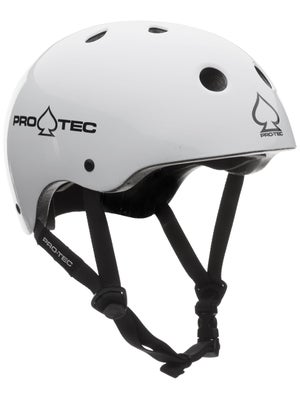 Protec The Classic Skate Helmet Gloss White XS