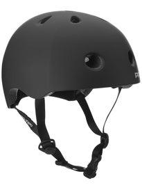Protec Street Lite Skateboard Helmet  Black Rubber