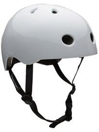 Protec Street Lite Skateboard Helmet Gloss White