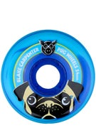 Pig Carpenter Pug Blue Swirl Wheels