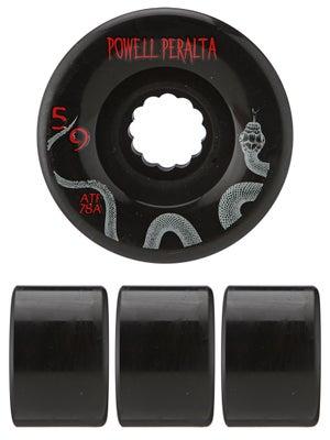 Powell All Terrain 78a Black Wheels 59mm