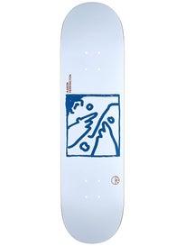 Polar Herrington Doodle Face Deck 8.25 x 31.875