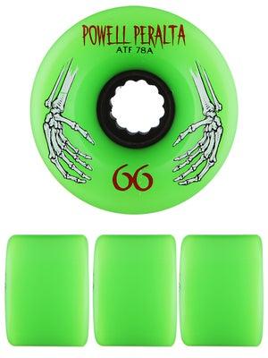 Powell All Terrain 78a Green Wheels 66mm