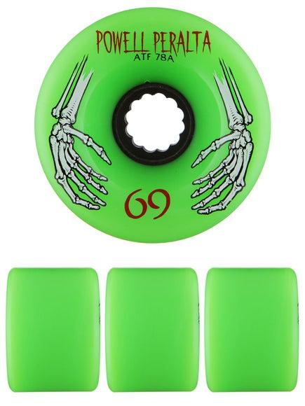 Powell All Terrain 78a Green Wheels
