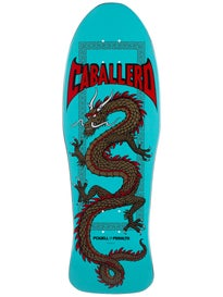 Powell Caballero Chinese Dragon Turquoise Deck 10x30