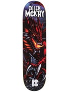 Plan B McKay Red Dragon Vert Shape Deck 8.25 x 32.875
