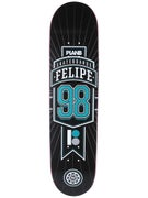Plan B Felipe Genesis Black Ice Deck 7.625 x 31.5