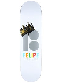 Plan B Felipe Royalty Blk Ice Deck 8.25 x 31.95
