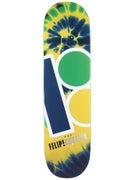 Plan B Gustavo Tie Dye Deck 8.25 x 31.75