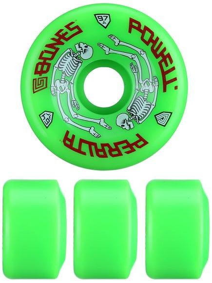Powell G-Bones Wheels  Green
