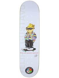 Plan B x Grizzly Gustavo Deck  7.625 x 30.75