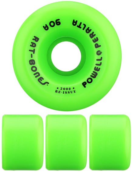 Powell Rat Bones Wheels  Green