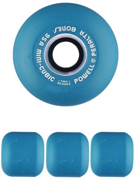 Powell Mini-Cubic Blue Wheels