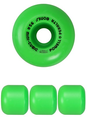 Mini-Cubic Green Wheels 64mm