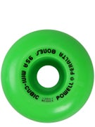 Powell Mini-Cubic Green Wheels