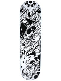 Plan B Sheckler Aces Tattoo Blk Ice Deck 8.25 x 31.875