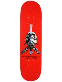 Powell Rodriguez Skull & Sword Red Deck 8.25 x31.95