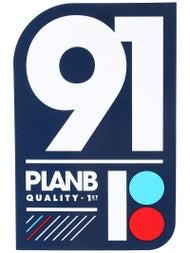 Plan B Team 91 Sticker