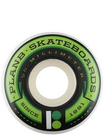 Plan B Team Banner Green 98a Wheels
