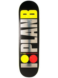 Plan B Team OG Blk Ice LG Deck 8.25 x 31.25